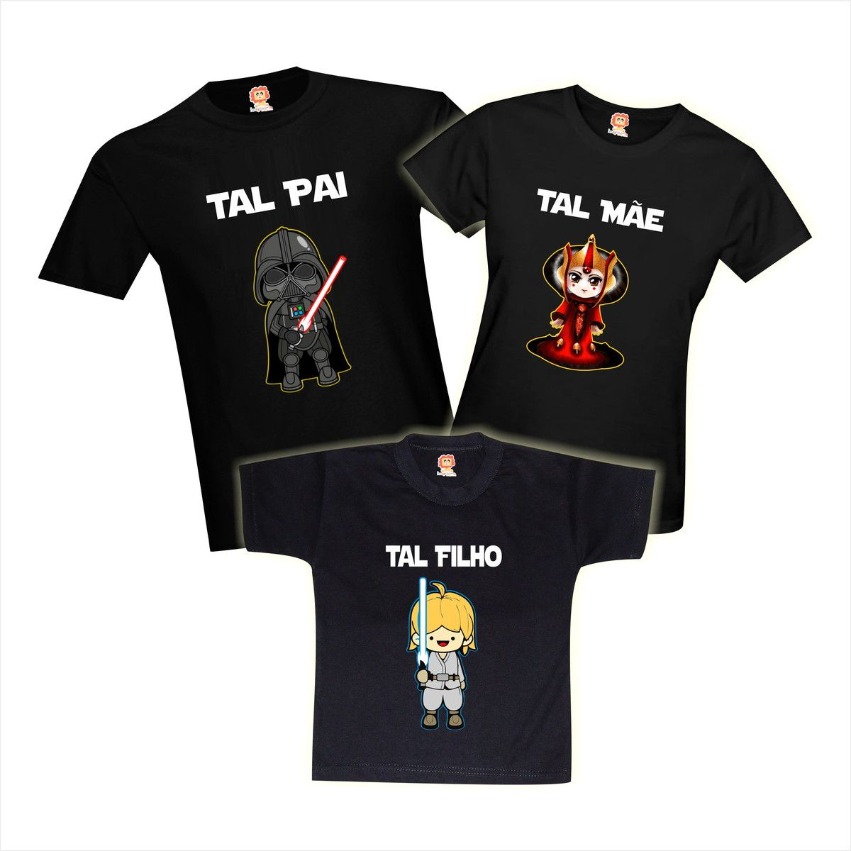 Camisetas Família Star Wars