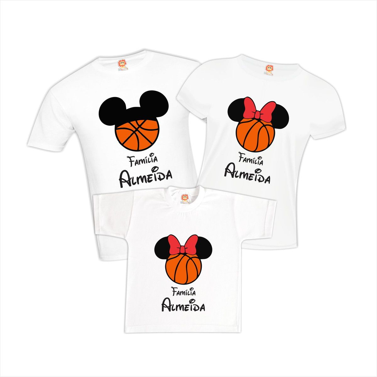 Camisetas Viagem Disney Mickey Basketball