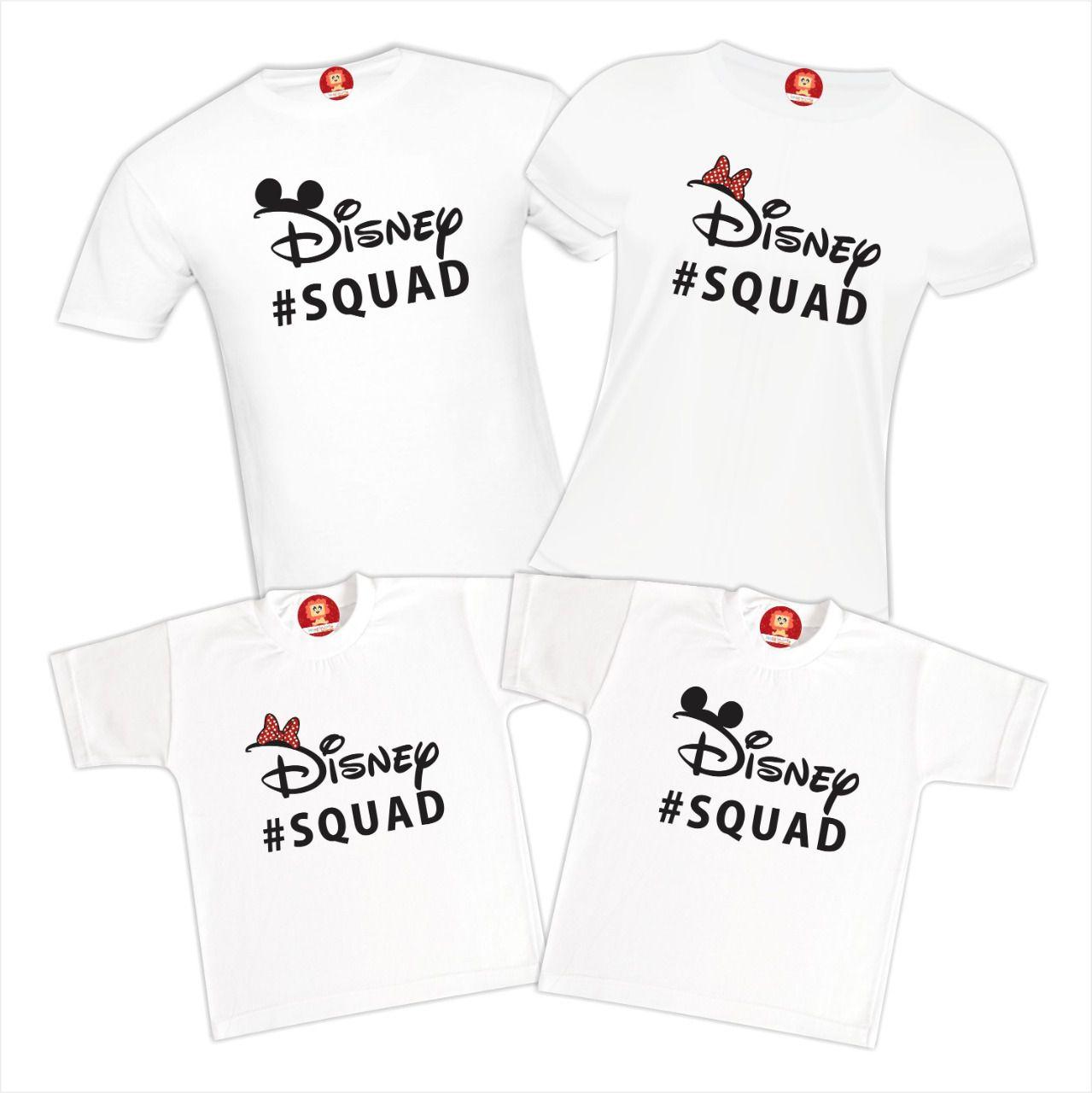 Camisetas Viagem Disney Squad