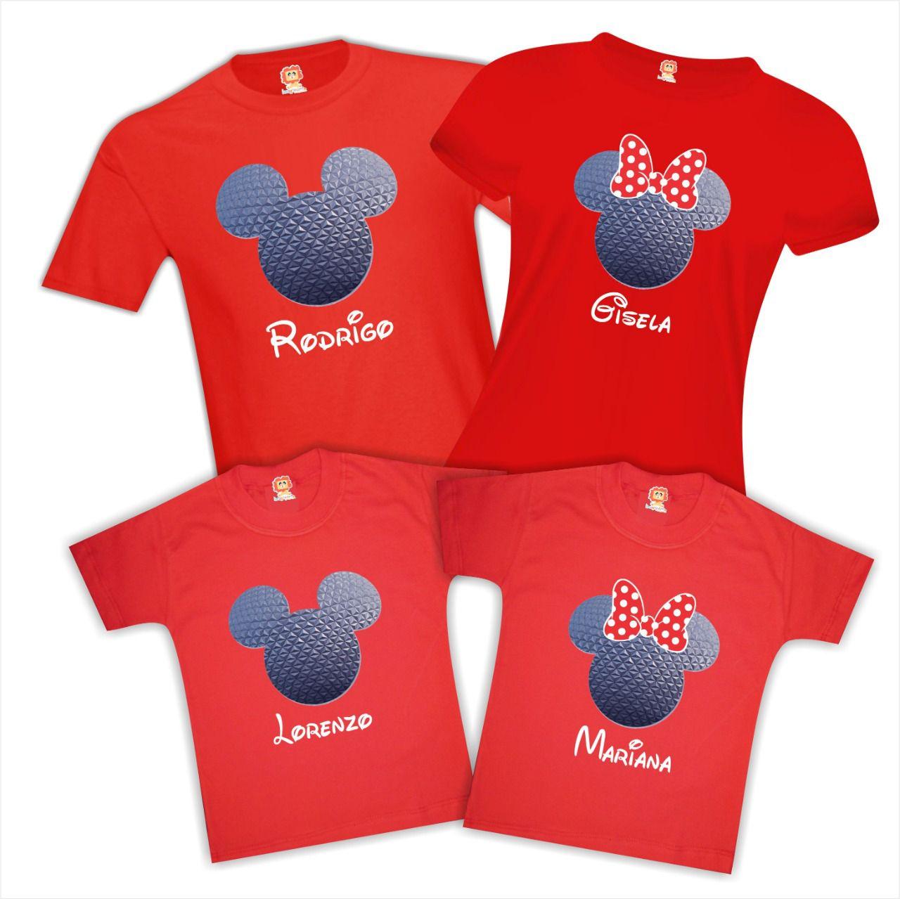 Camisetas Viagem Orlando Parques Disney e Universal