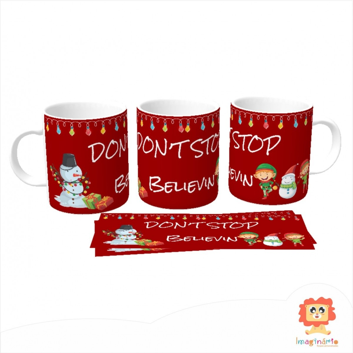 Caneca Don't Stop Believin