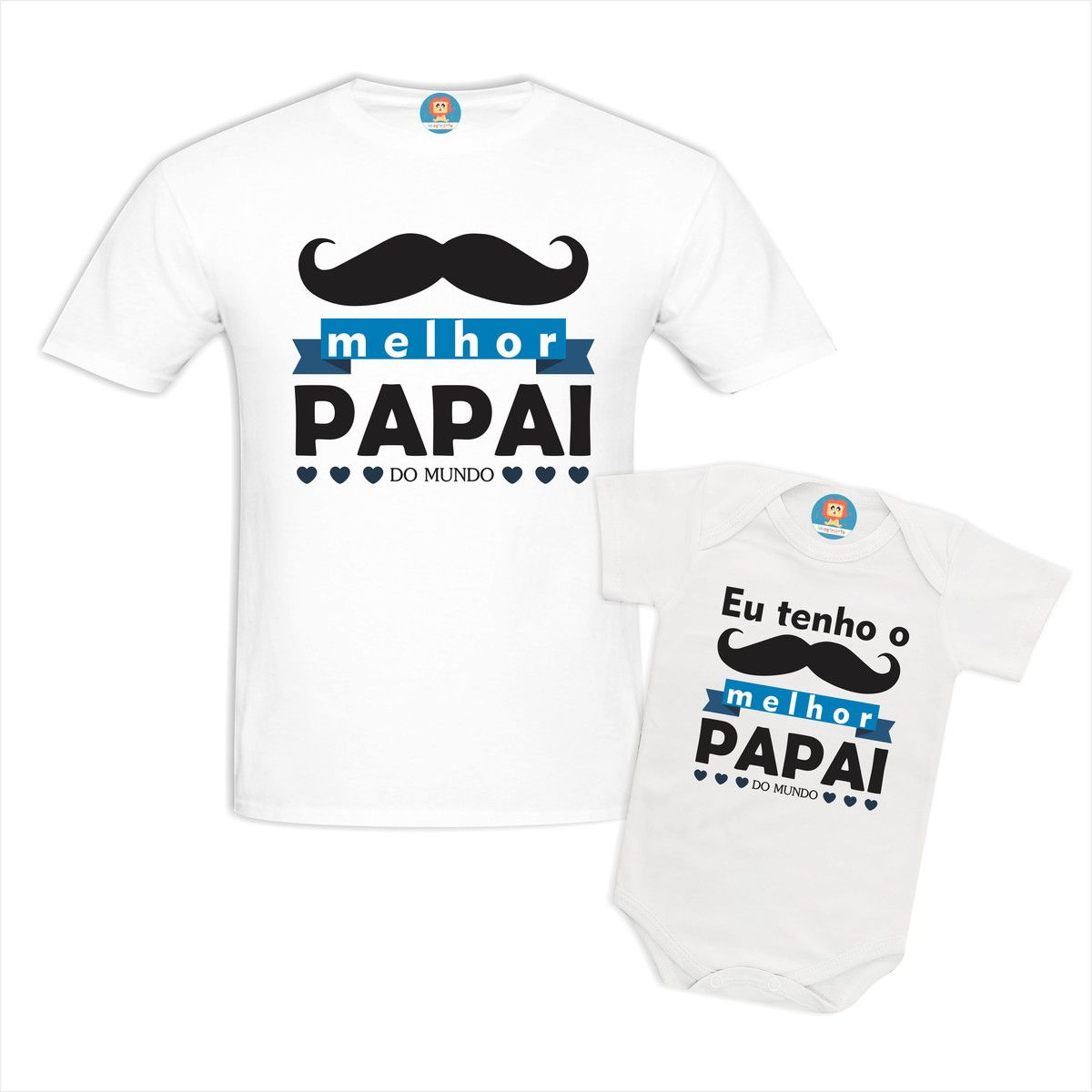 Kit Camisetas Melhor Pai do Mundo