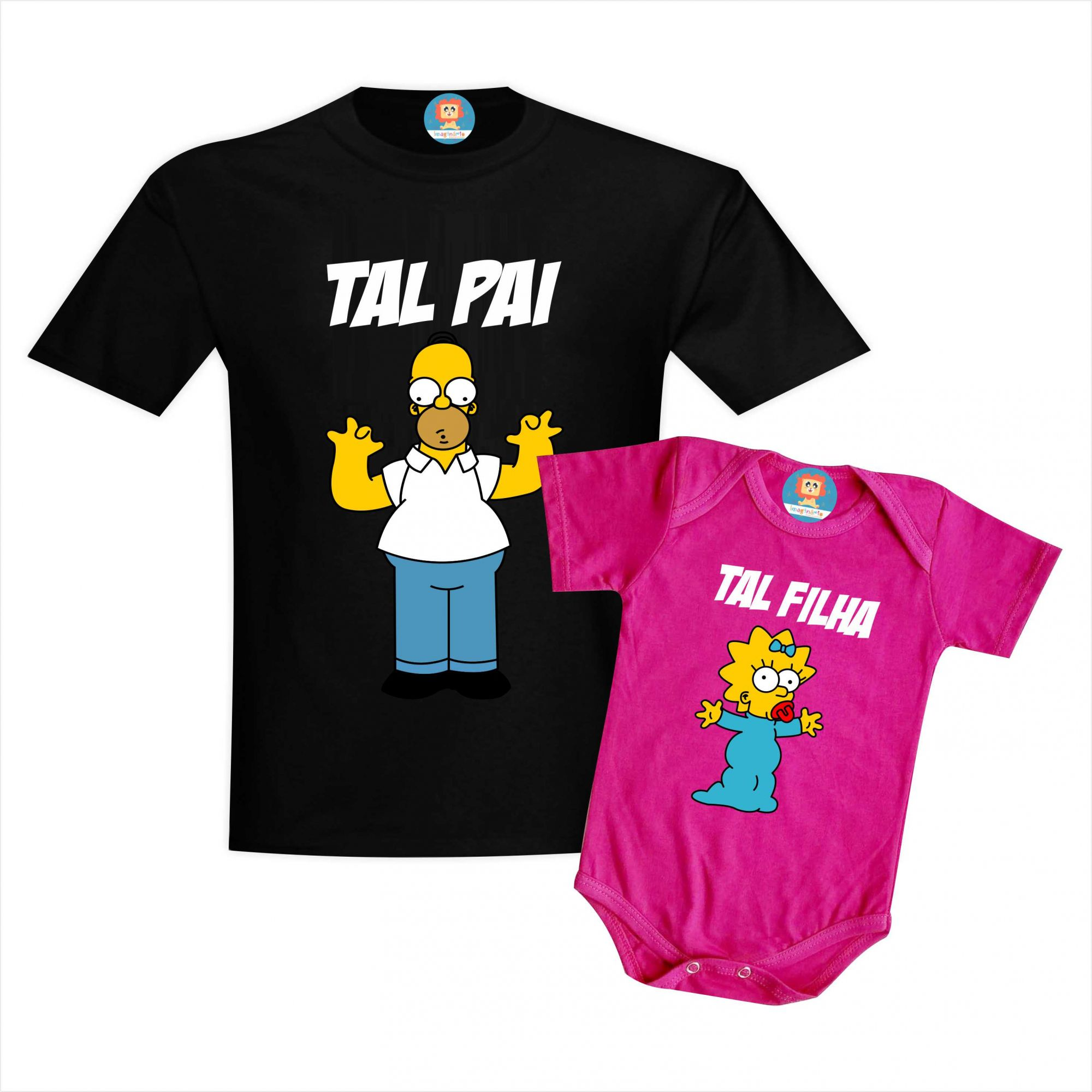 Kit Camisetas Os Simpsons