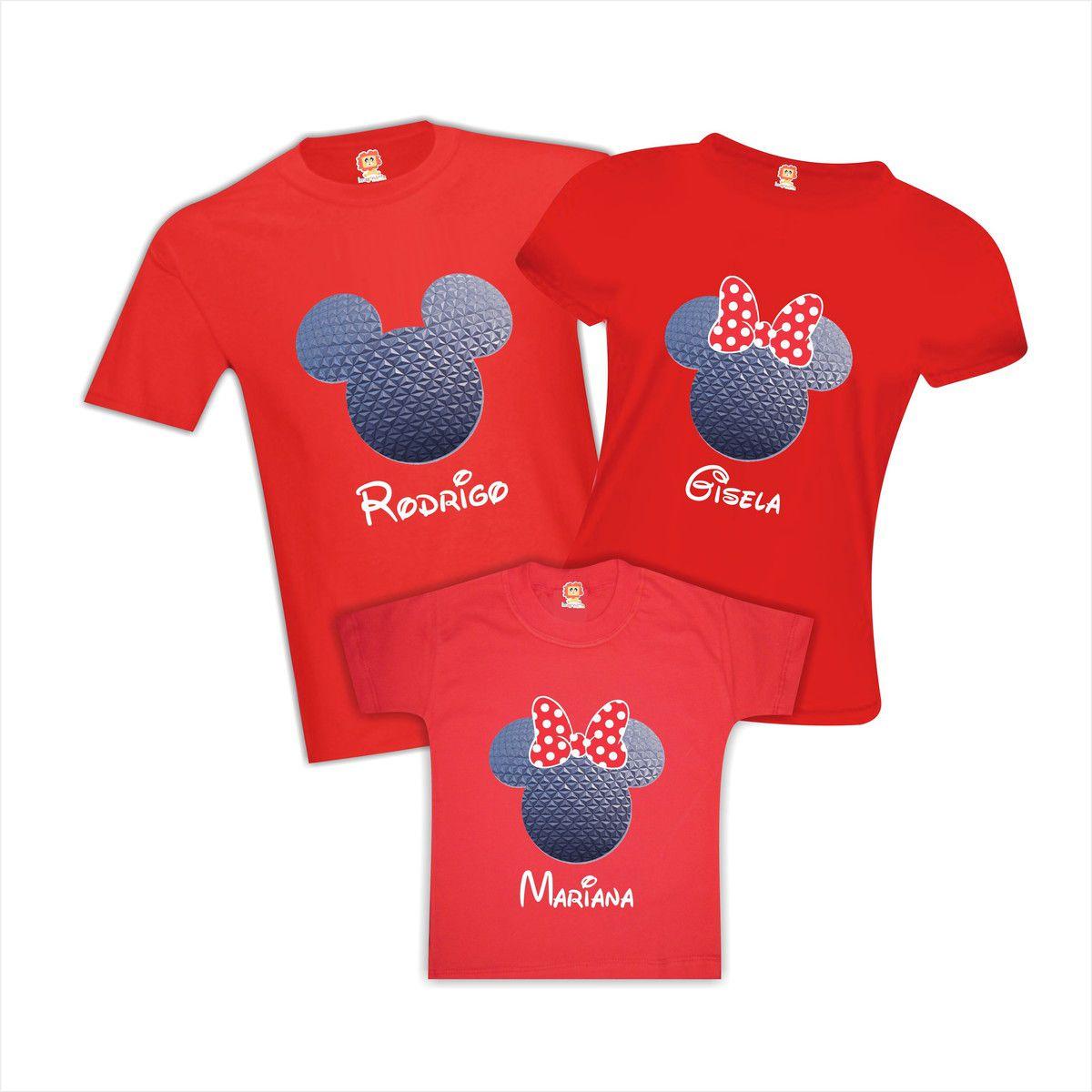 Kit Camisetas Viagem Universal Studios