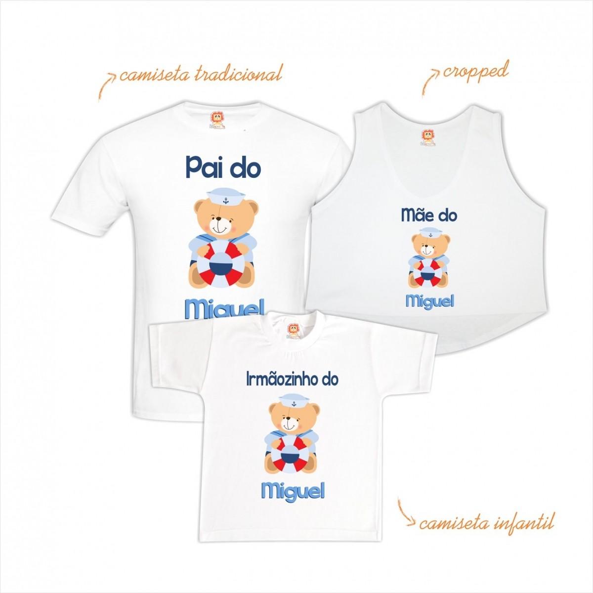 Kit Chá de Bebê Ursinho Marinheiro