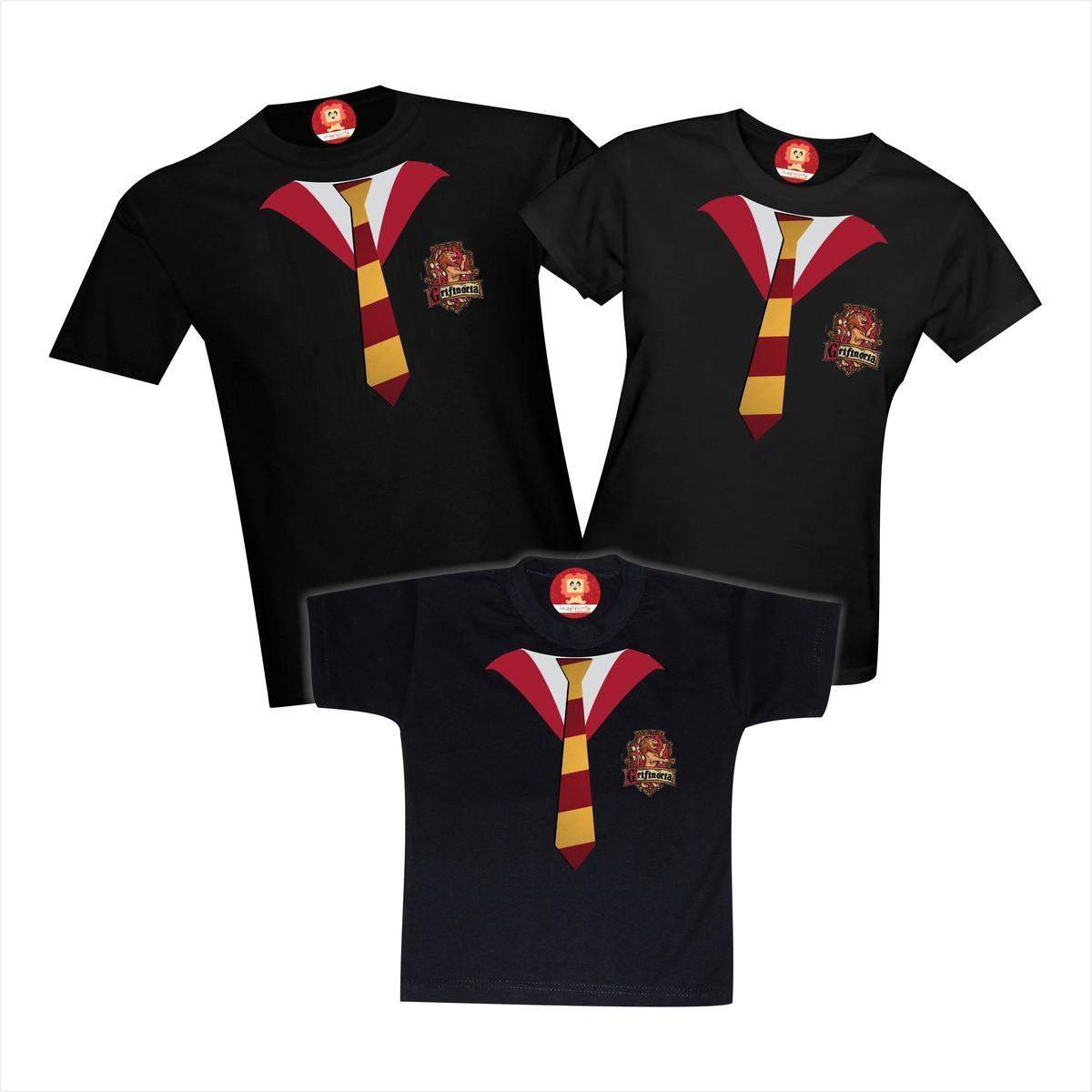 Kit Família Harry Potter Grifinória 3pc