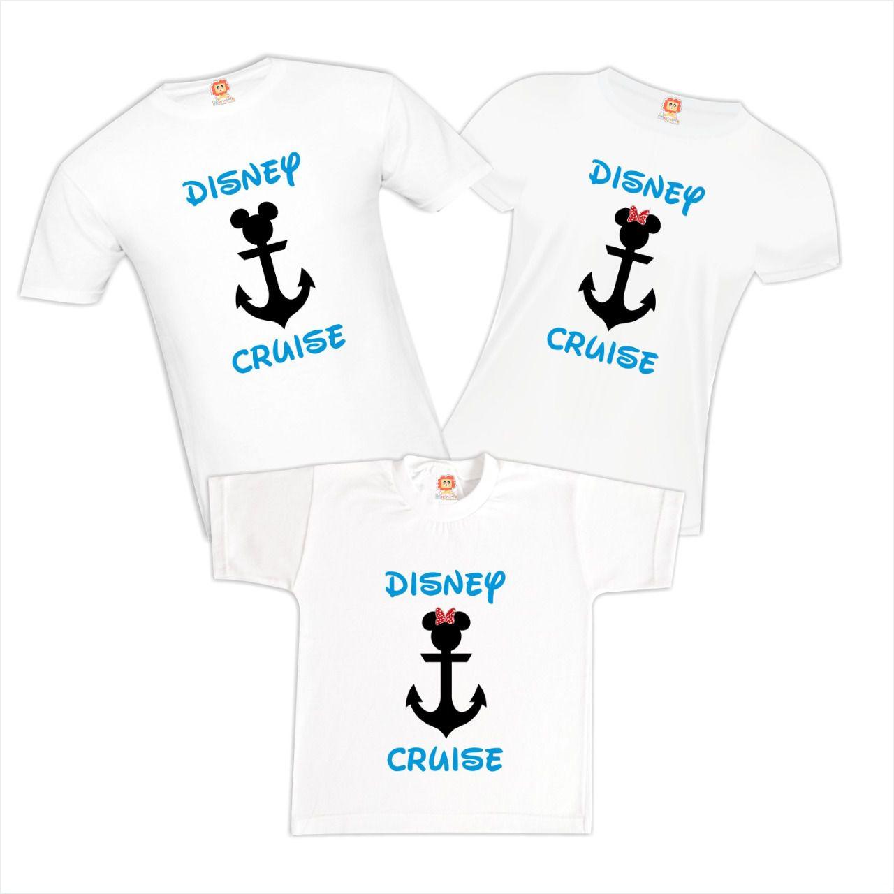 Kit Família Viagem Cruzeiro Disney