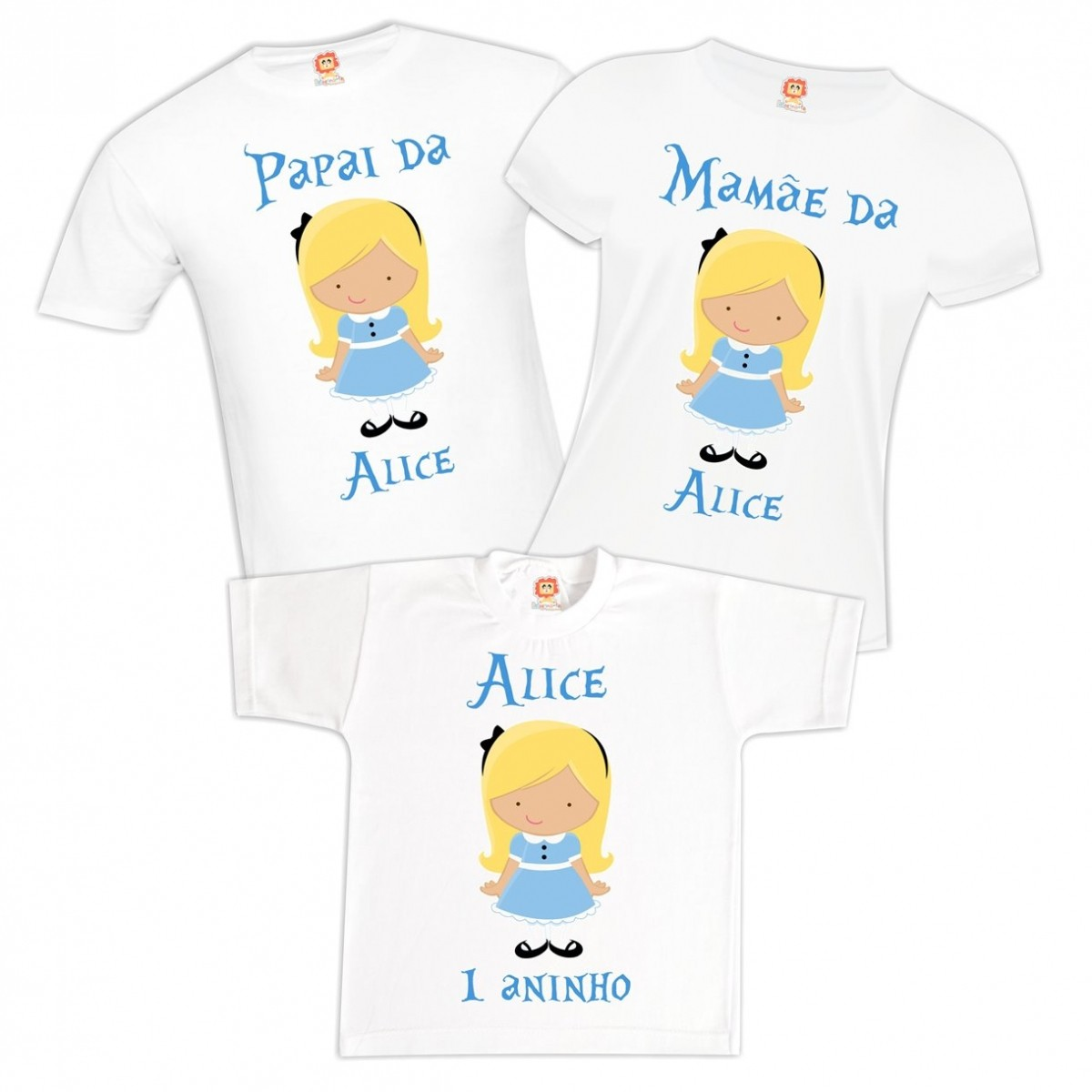 Kit Festa Alice Cute
