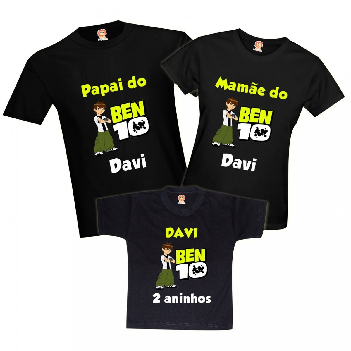 Camisetas de Aniversário Ben 10