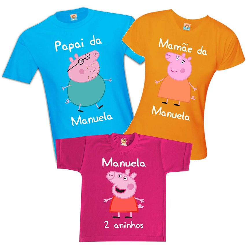 Kit Festa Família Pig