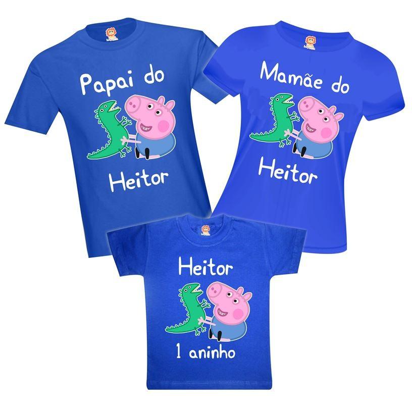 Kit Festa George Pig e Dinossauro