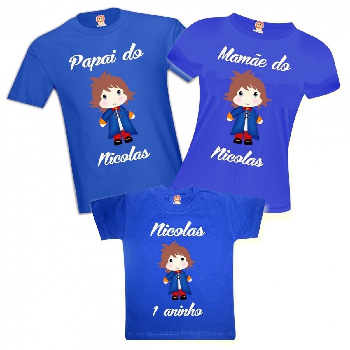 Camiseta de Aniversário Pequeno Princípe