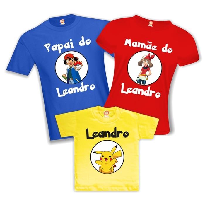 Camisetas de Aniversário Pokémon
