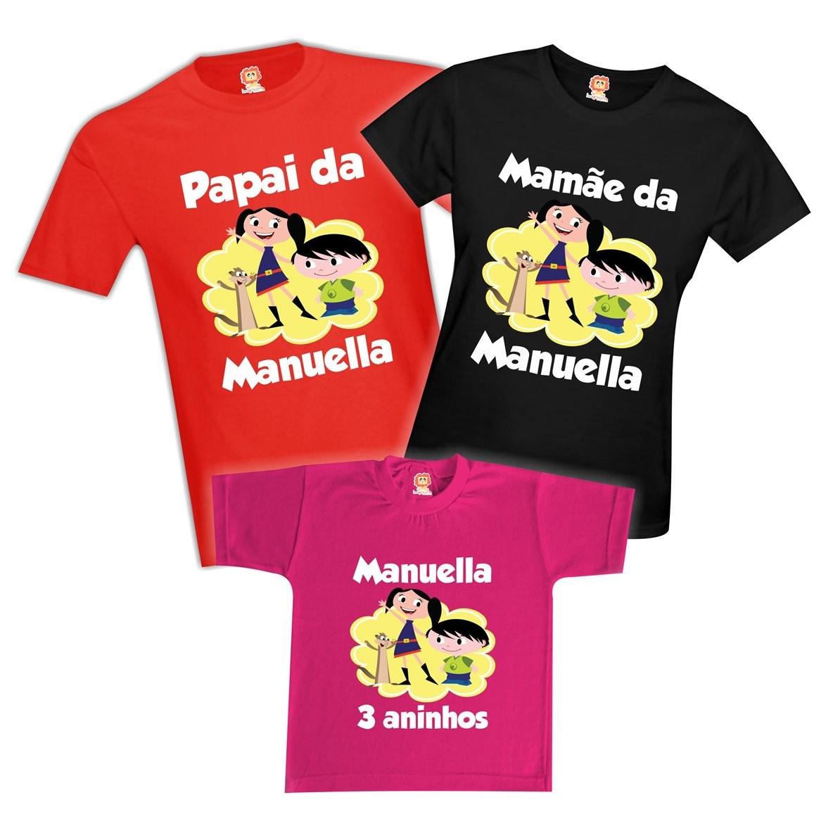 Camisetas Festa Show da Luna
