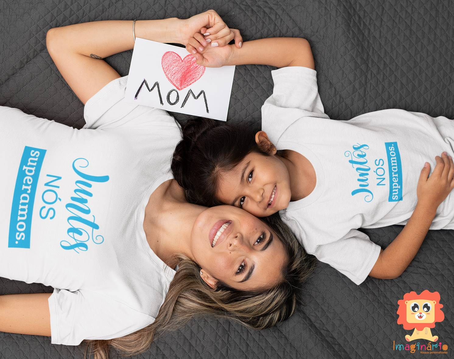 Kit Mãe e Filho(a) Juntos Nós Superamos Ano Novo