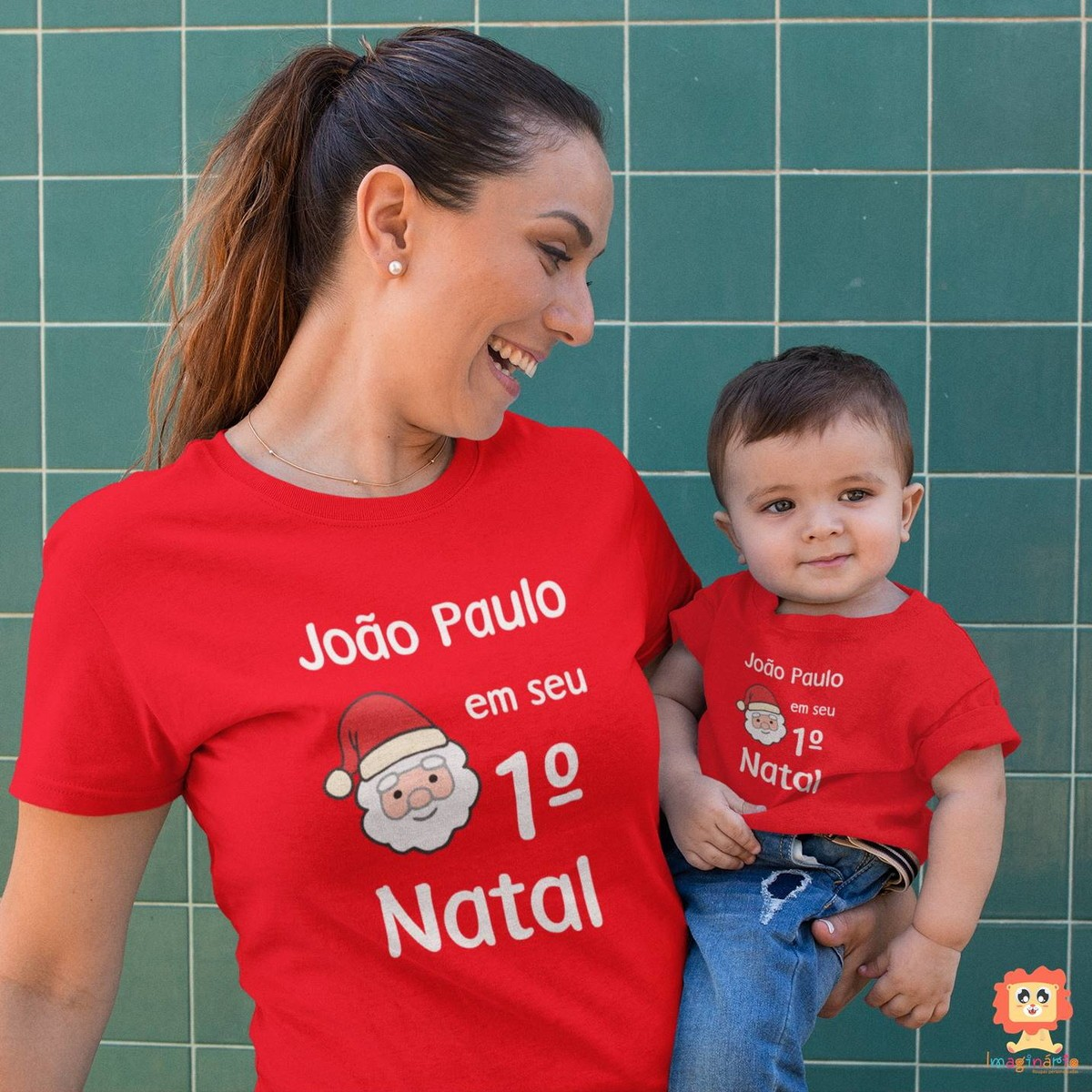 Kit Mãe e Filho(a) Primeiro Natal