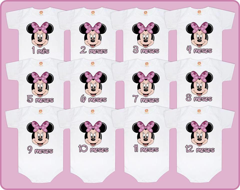 Kit Mesversário Minnie Lilás Disney