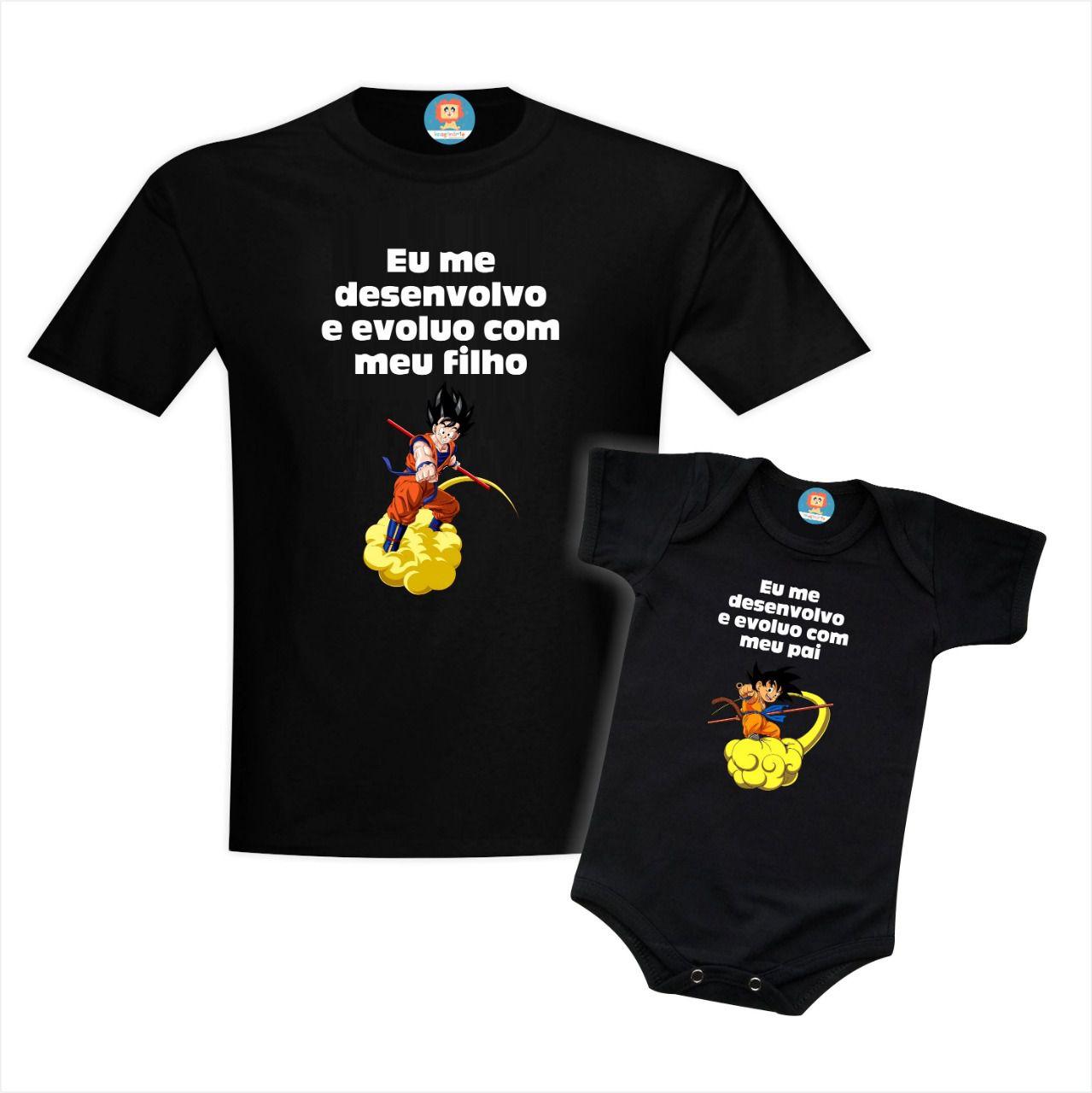 Kit Pai e Filho Dragon Ball
