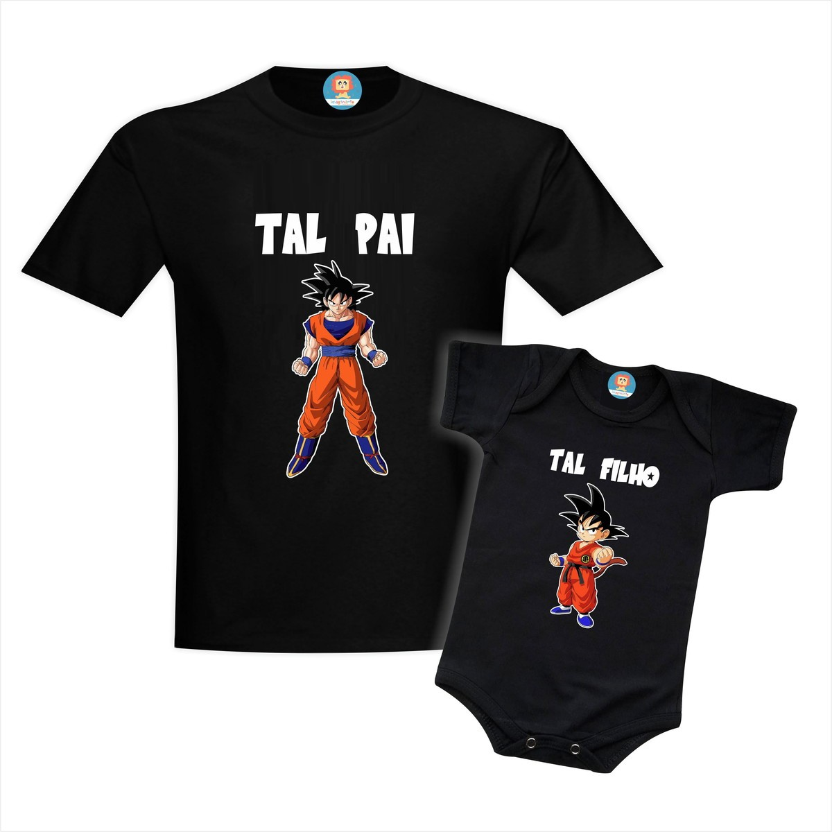 Kit Tal Pai e Filho Dragon Ball Goku