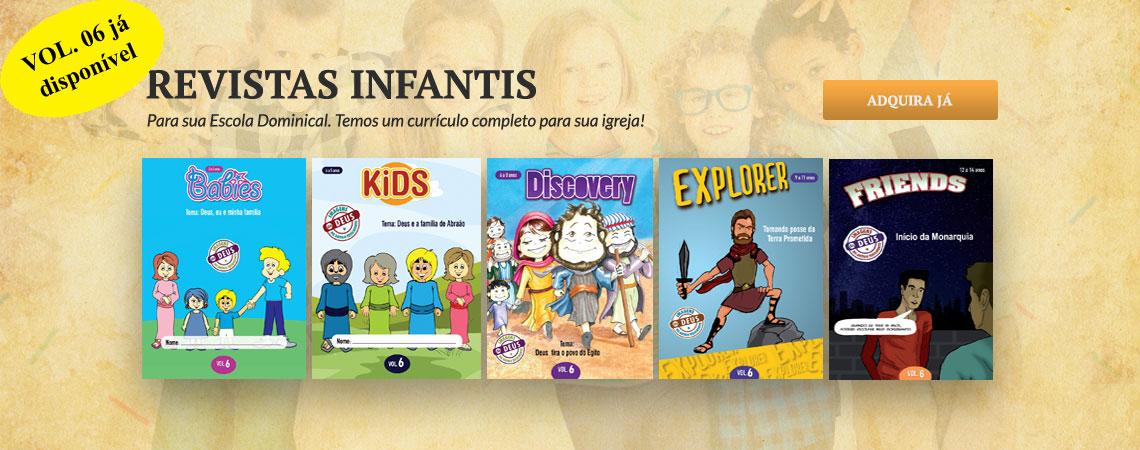 revistas infantis