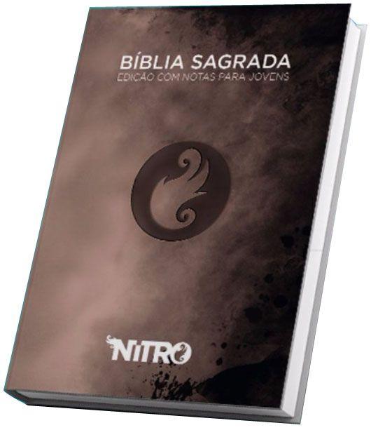 Bíblia NITRO (Cinza) - versão NTLH Edição com notas para jovens