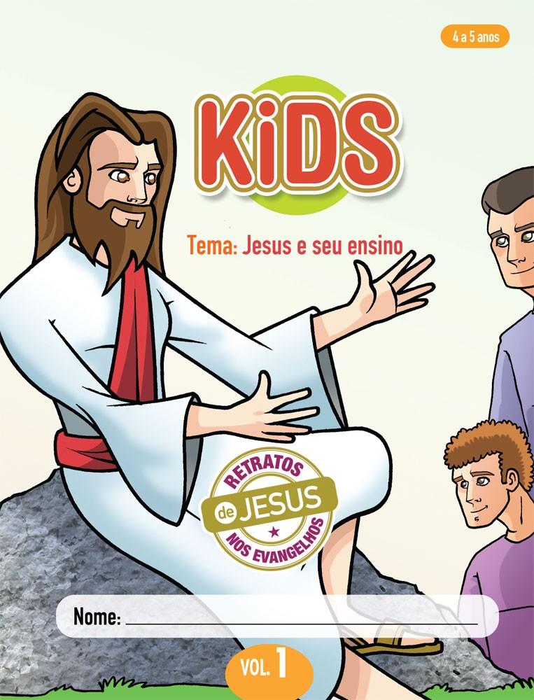 Kids 1 Aluno - Jesus e seu ensino