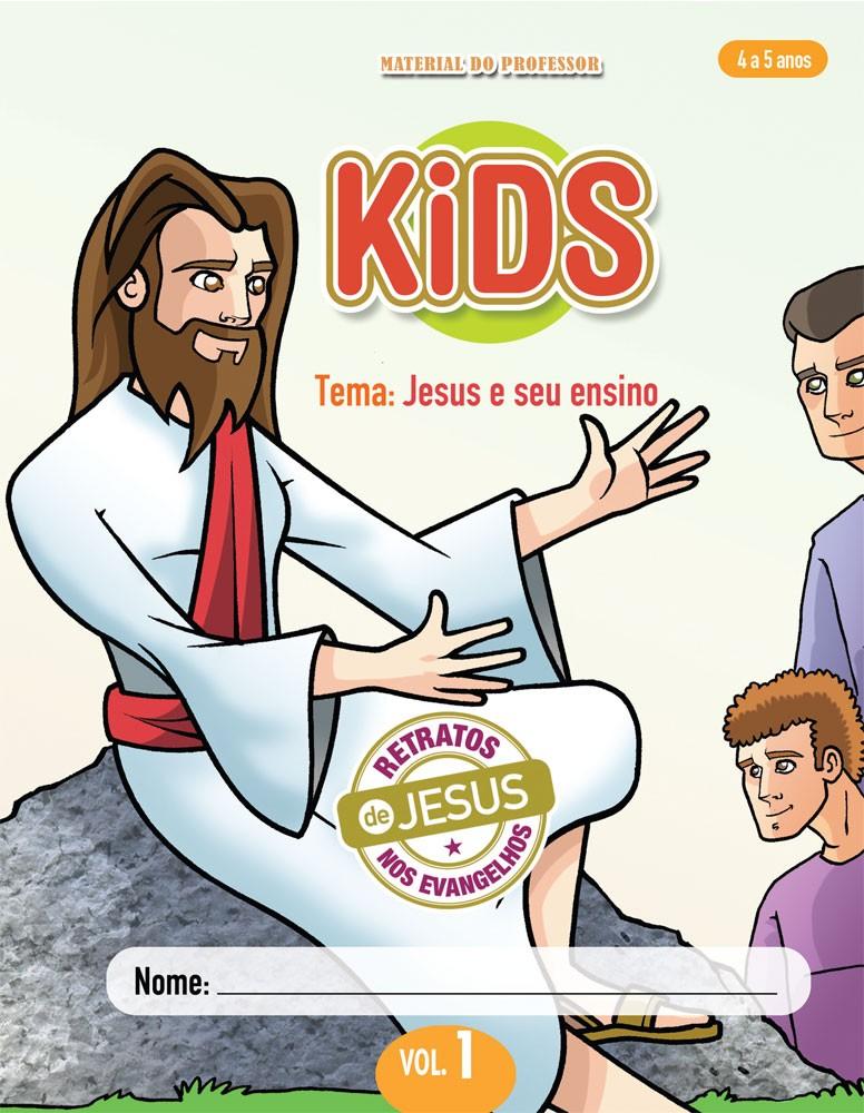 Kids 1 Professor - Jesus e seu ensino