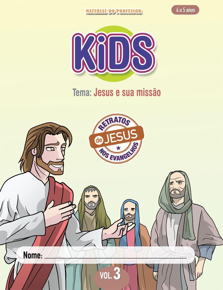 Kids 3 Professor - Jesus e sua missão