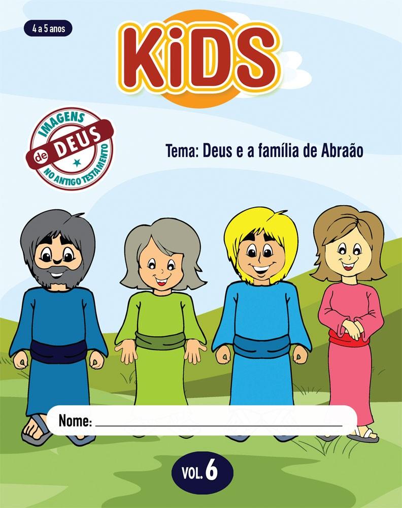 Kids 6 Aluno - Deus e a família de Abraão