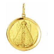 Pingnete Grande Nossa Senhora Aparecida 3.8cm Ouro 18k - 750 K1230
