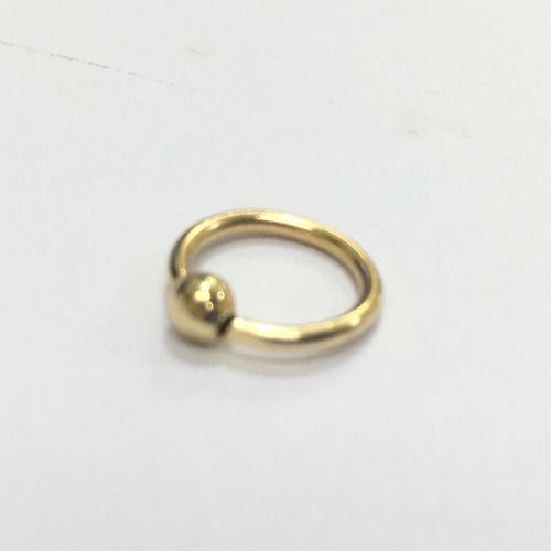 Ouro 18k Argola Ferradura 6m Piercing Cartilagem Tragus Septo CP01k056