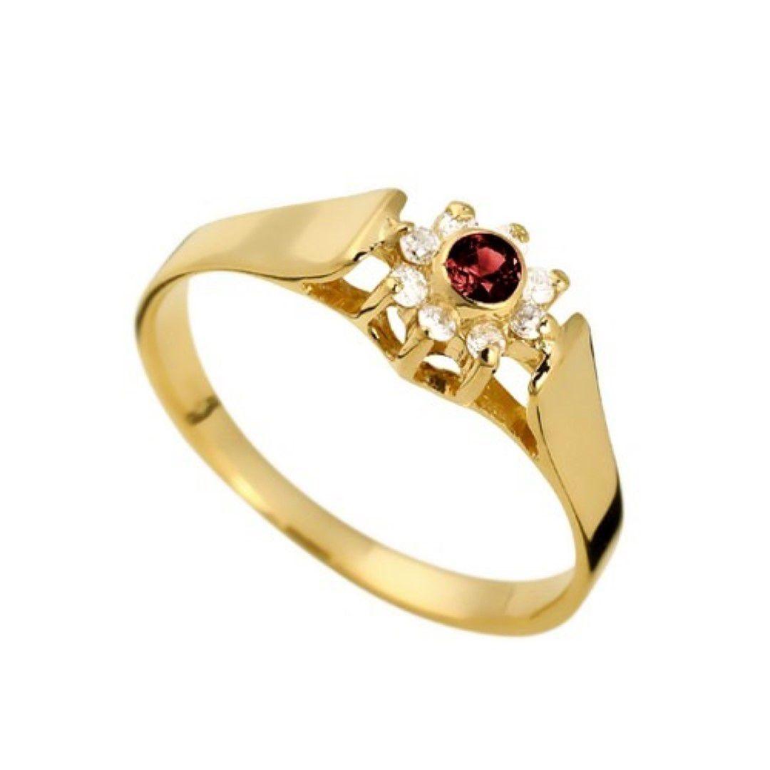 Anel Rubi Formatura Feminino Ouro 18k e Diamante Natural FJM1373-3 k3.75