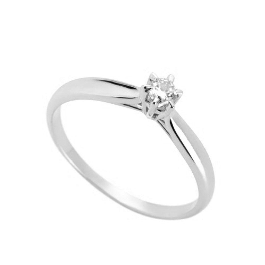 Anel Solitario Ouro 18k Diamante Sintetico FMJ1509 k250