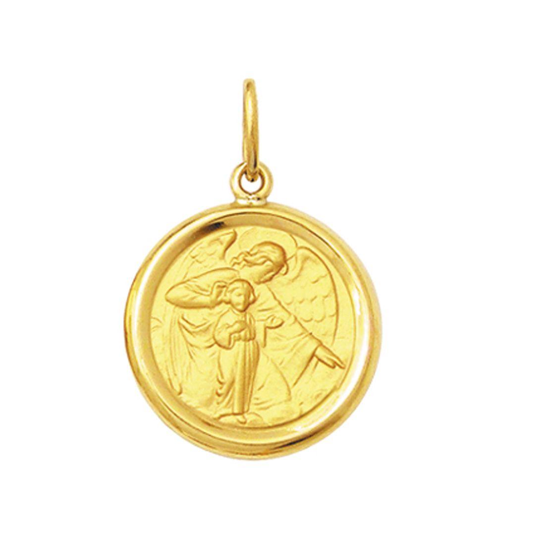 Pingente Grande 3.8cm Ouro Maciço 18k FDMR11-K1230 (16 Santos)