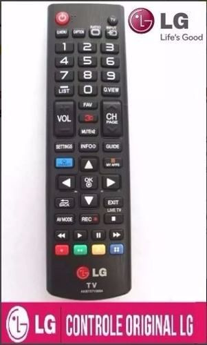 Controle Remoto Tv Lg Led Smart 32lb570b 32lb580b