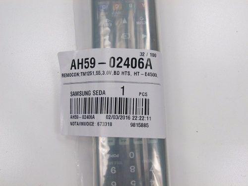 Controle Samsung Orig Hometheater Função Netflix Ah59-02406a