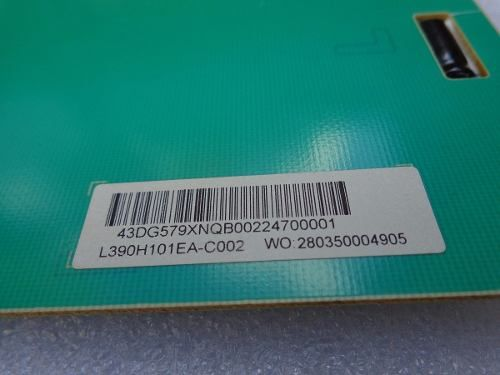PLACA LED DRIVE INVERTER PANASONIC TC-39A400B