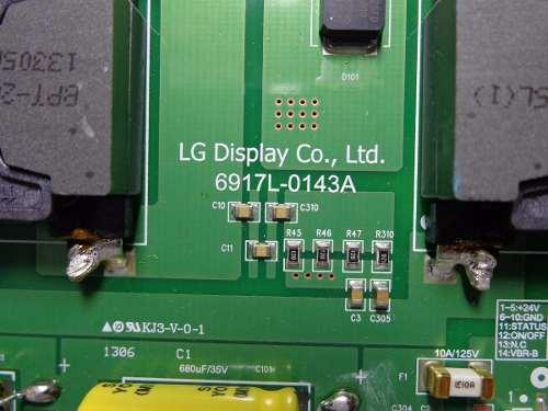 PLACA LED DRIVE LG 60LA8600 6917L-0143A