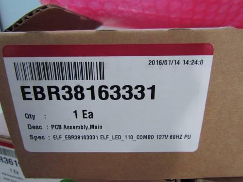 PLACA LAVADORA LG LAVA E SECA WD-12596RD / RW EBR38163331