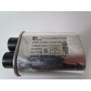 CAPACITOR PARA MICROONDAS 0,90uF X 2100V = 0,92 UF X 2100V