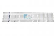 KIT BARRA DE LED SAMSUNG QN65Q80RAG 48098A