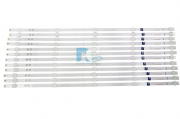 KIT BARRA DE LED SONY KD-65X755F SVA650A66_5LED