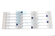 KIT BARRA DE LED TOSHIBA 40L2400 40L5400 DL3944 DL4045