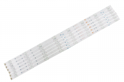 KIT BARRA DE LED TOSHIBA 65P65US 65P8M 65HR330M08A1