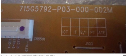 PLACA FONTE PHILIPS 39PFL4508 39PFL3508 715G5792-P03-000-002 * ATENÇÃO