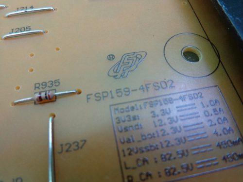 PLACA FONTE PHILIPS 47PFL7008G 47PFL8008G 55PFL7008G 55PFL8008G FSP159-4FS02