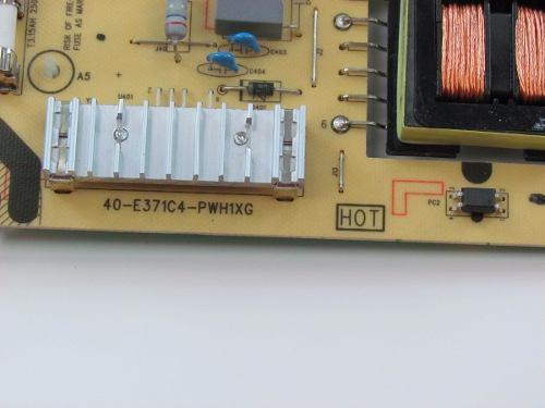 PLACA FONTE PHILCO PH39E53SG 40-E371C4-PWH1XG = 40-E371C5-PWH1XG
