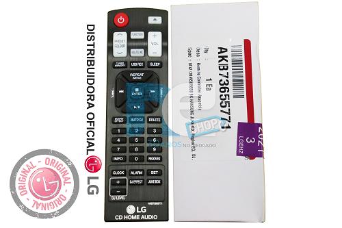 CONTROLE REMOTO LG Akb73975701