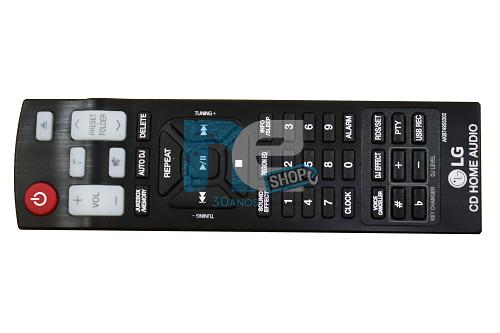 CONTROLE REMOTO LG AKB74955302 MINI SYSTEM