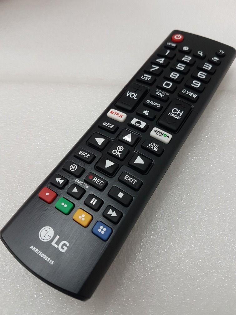 CONTROLE REMOTO LG AKB75095315 C/ NETFLIX